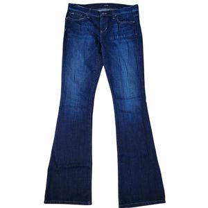 Joe's Jeans Rocker Fit Denim Blue Jeans Bootcut Sz 28 (see pic)